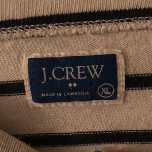 J. Crew Tops - J. Crew navy nautical pullover